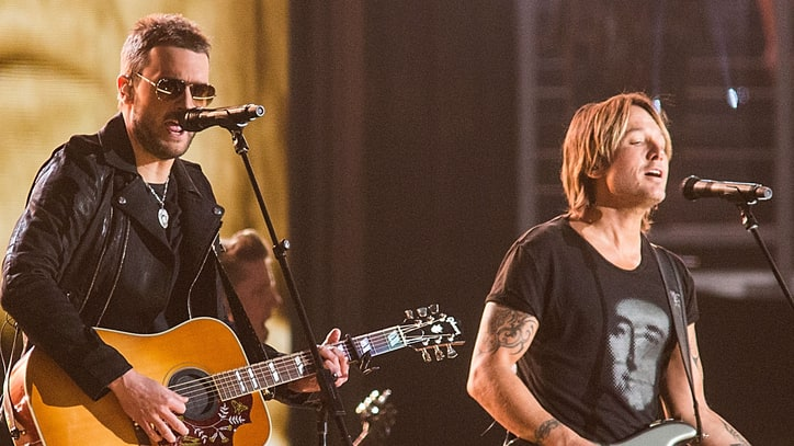 See Eric Church, Keith Urban's Surprise Performance of 'Record Year'