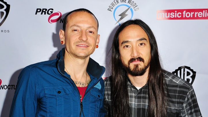 Steve Aoki Unveils Linkin Park Mash-Up, Talks 'Favorite Singer' Chester Bennington