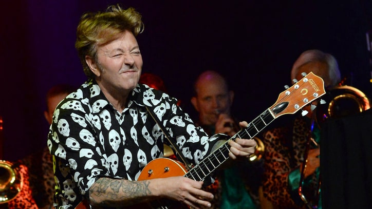 See Brian Setzer's Supercharged, Live 'Rumble in Brighton'