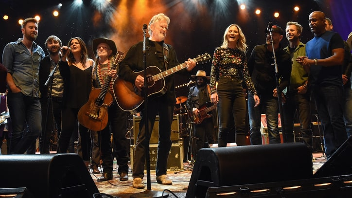 See Kris Kristofferson's All-Star Chorus With Willie Nelson, Eric Church