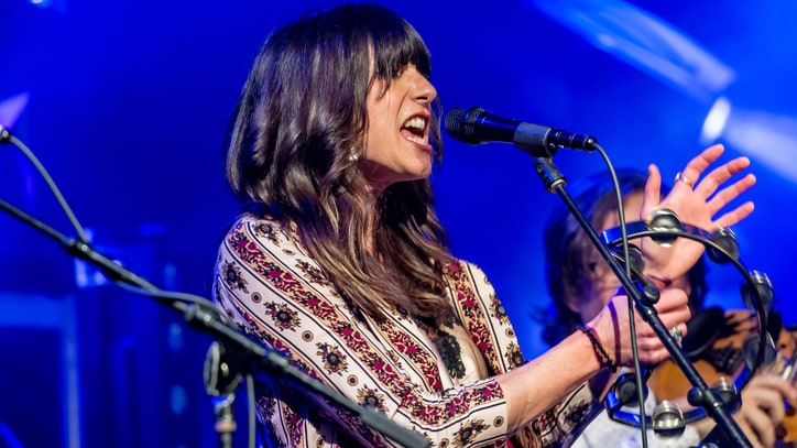 See Nicki Bluhm Protest Trump Travel Ban With 'Remember Love Wins'