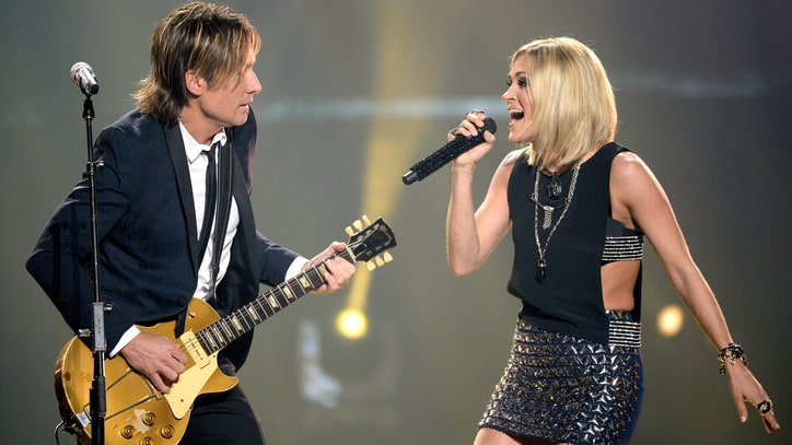 See Keith Urban, Carrie Underwood's Sultry Stevie Nicks, Tom Petty Duet