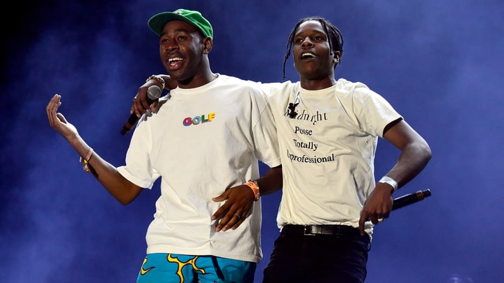 A$AP Rocky, Tyler, the Creator Team for Gritty 'Telephone'