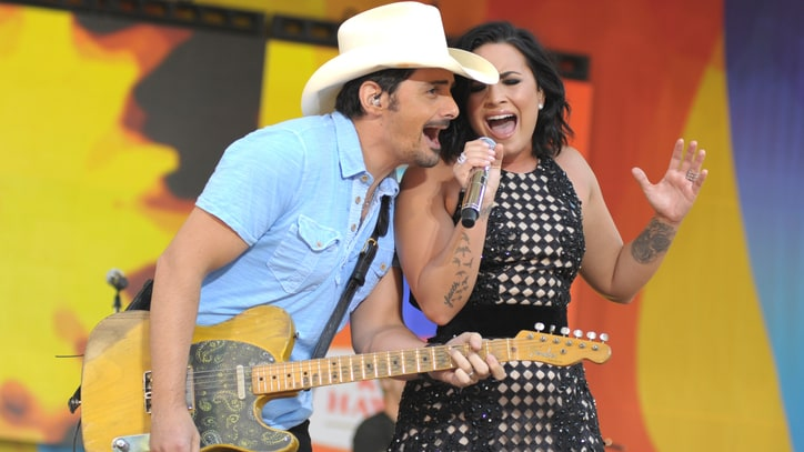 See Brad Paisley Join Demi Lovato and Nick Jonas for Somber 'Stone Cold'