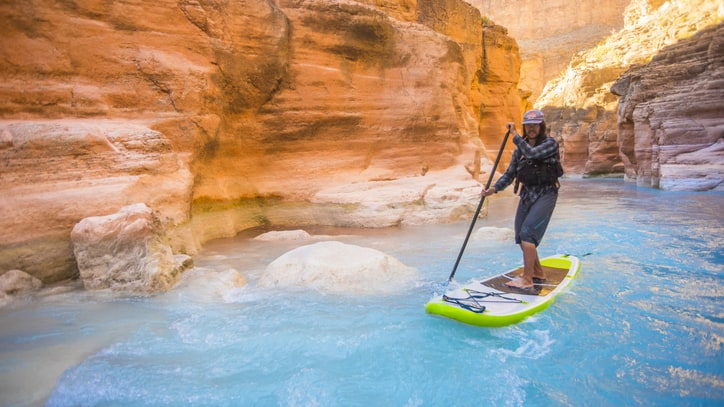 Paddleboard Through the Canyons of the Colorado River (No Permit Required)
