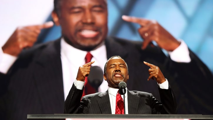 Ben Carson Connects Hillary Clinton to 'Lucifer' at RNC