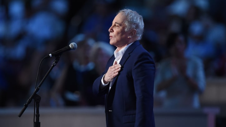 See Paul Simon Sing Spirited 'Bridge Over Troubled Water' at DNC