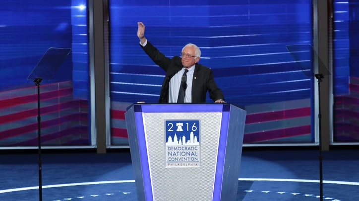 Watch Bernie Sanders' Inspiring DNC Speech