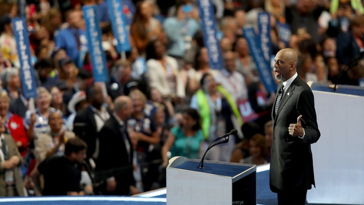 Watch Kareem Abdul-Jabbar Hilariously Skewer Trump at DNC