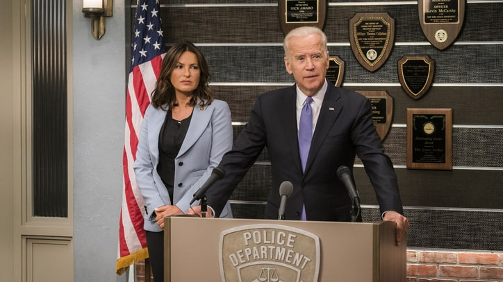 Joe Biden to Guest Star on 'Law & Order: SVU'