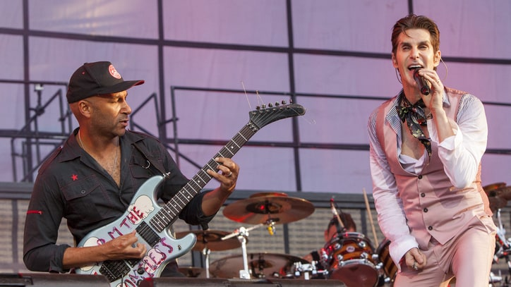 See Jane's Addiction Rock 'Mountain Song' With Tom Morello at Lollapalooza
