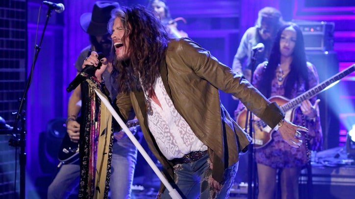 See Steven Tyler's Electric 'We're All Somebody' Performance on 'Fallon'