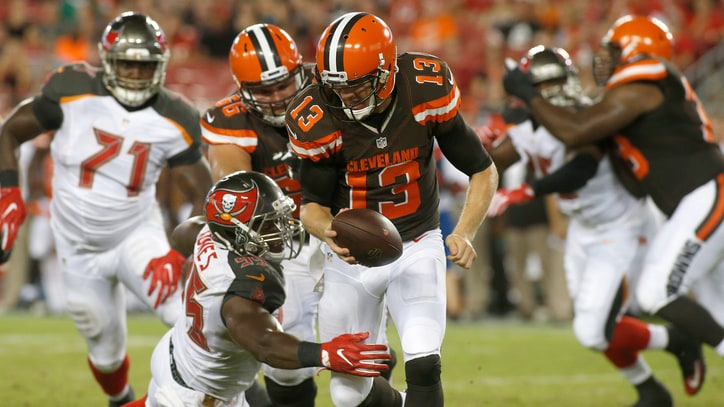 With Robert Griffin III Injured, Josh McCown Looks to Salvage Another Season