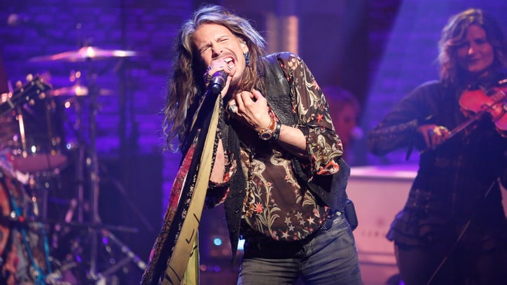 See Steven Tyler Take the Blame With 'Worst Enemy' on 'Seth Meyers'
