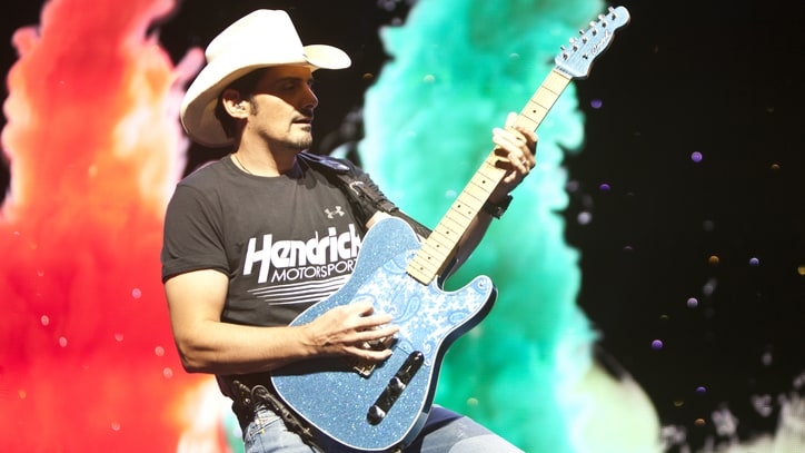 Brad Paisley Spotlights Own Guitar Heroes in Country Hall of Fame Exhibit
