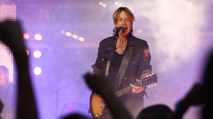 Keith Urban to Headline Nashville New Year's Eve Party