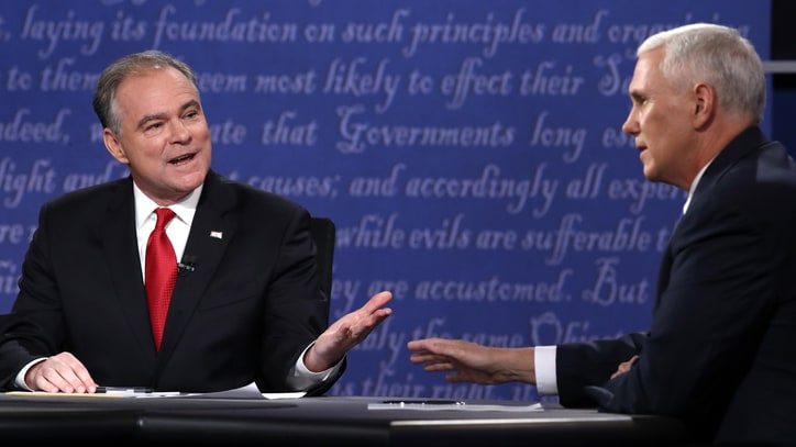 Tim Kaine on Trump at VP Debate: 'He Is Showing You Who He Is'