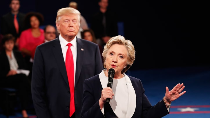 14 WTF Moments From Off-the-Rails Second Presidential Debate