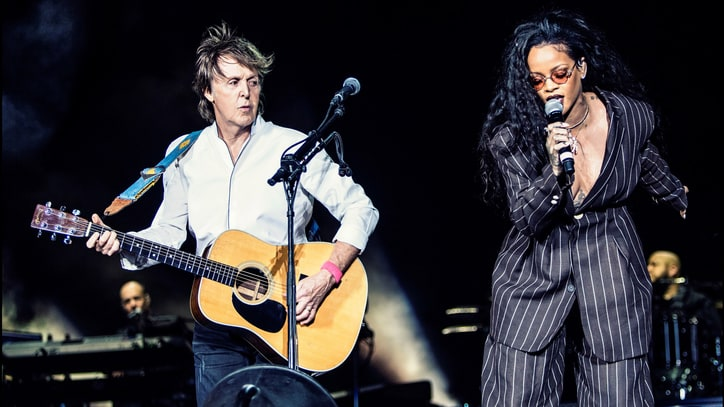 See Paul McCartney Sing 'FourFiveSeconds' With Rihanna at Desert Trip