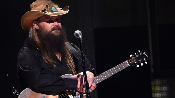 See Chris Stapleton's Captivating Solo Performance of 'Whiskey and You'