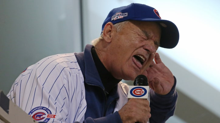 See Bill Murray's Passionate 'Take Me Out to the Ball Game' at Cubs Game