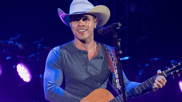Hear Dustin Lynch's Seductive New Song 'Small Town Boy'