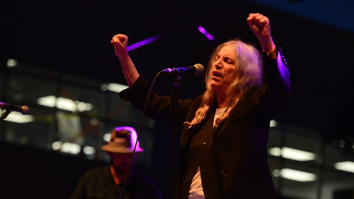 See Patti Smith Celebrate 70th Birthday With Michael Stipe in Chicago