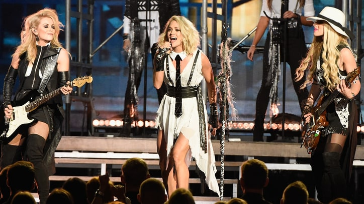 Carrie Underwood Talks 'Strong Women', 'Hush-Hush' Beyoncé at CMA Awards