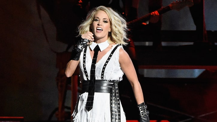 See Carrie Underwood's Fiery 'Dirty Laundry' at the CMA Awards