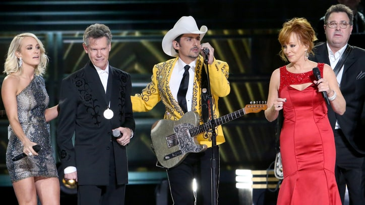 See CMA Awards' All-Star Opening With Carrie Underwood, Randy Travis