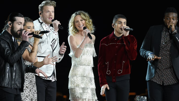 See Pentatonix, Jennifer Nettles' Dolly Parton Tribute at CMA Awards