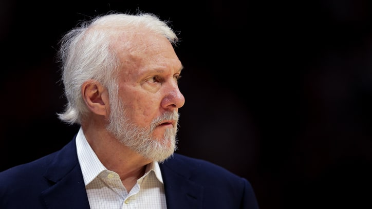 Spurs Coach Gregg Popovich 'Sick to My Stomach' Over President Trump