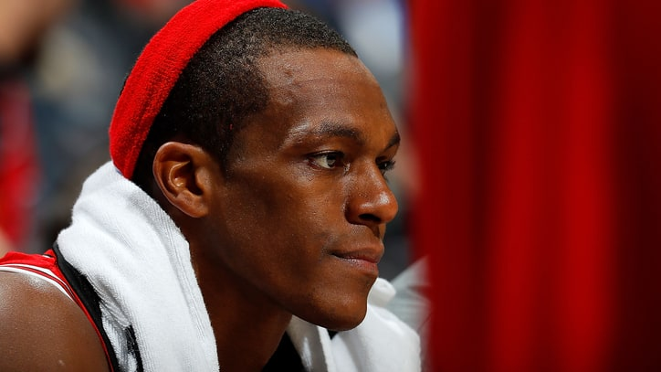 Rajon Rondo Benched for His Own Chicago Bulls Bobblehead Night