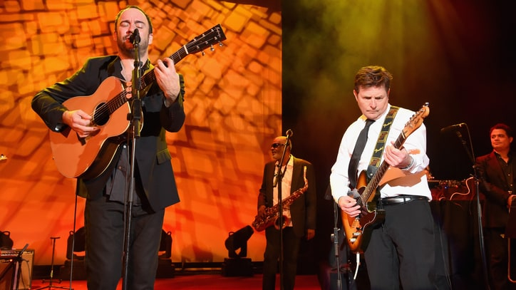 See Michael J. Fox, Dave Matthews Band Cover 'All Along the Watchtower'
