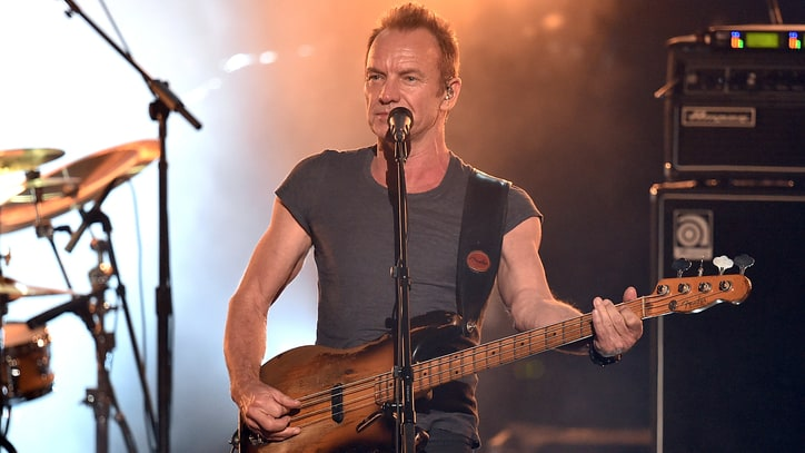 Watch Sting Perform Career-Spanning Medley at AMAs