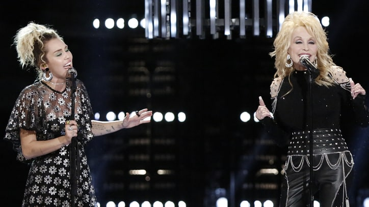 See Dolly Parton, Miley Cyrus Sing Grooving 'Jolene' on 'The Voice'
