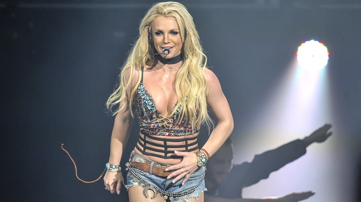 Britney Spears' Watercolor Painting Auctioned Off for $10,000