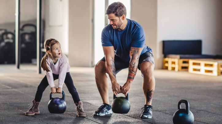 Don't Let Your Toddler Get in the Way of a Workout