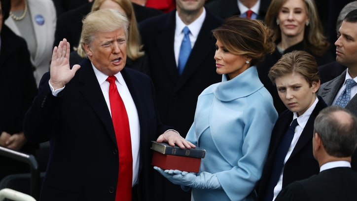 Watch Donald Trump's Inauguration Speech Pledging 'America First'