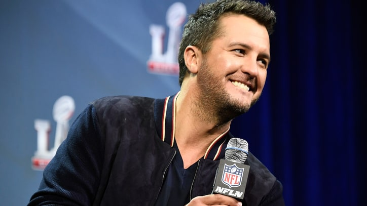 Luke Bryan Talks Super Bowl Performance, Politics of Picking a Team