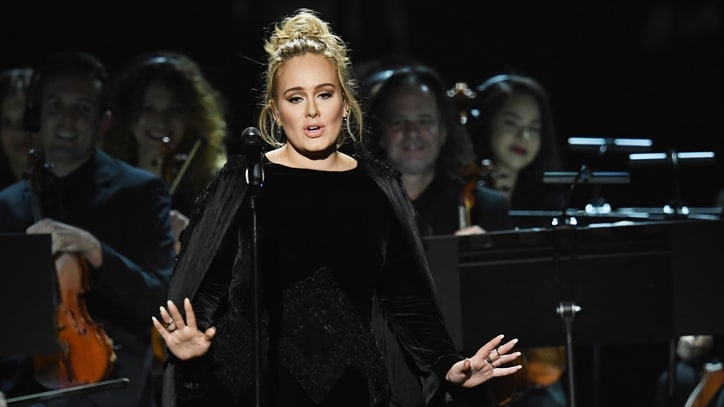Watch Adele's Emotional George Michael Tribute at Grammys