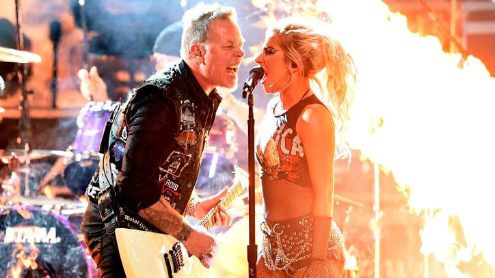 See Metallica, Lady Gaga Unleash Blistering 'Moth Into Flame' at Grammys