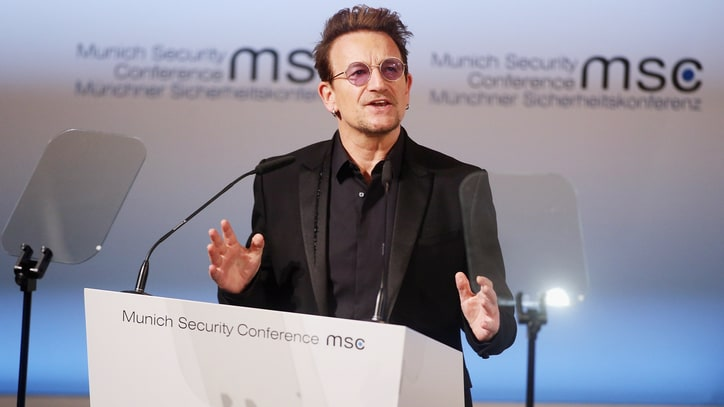 Watch Bono's Speech on How Development Can Prevent Extremism