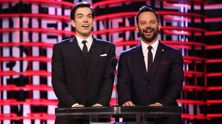 See John Mulaney, Nick Kroll Rip on Trump, Mel Gibson in Spirit Awards Monologue