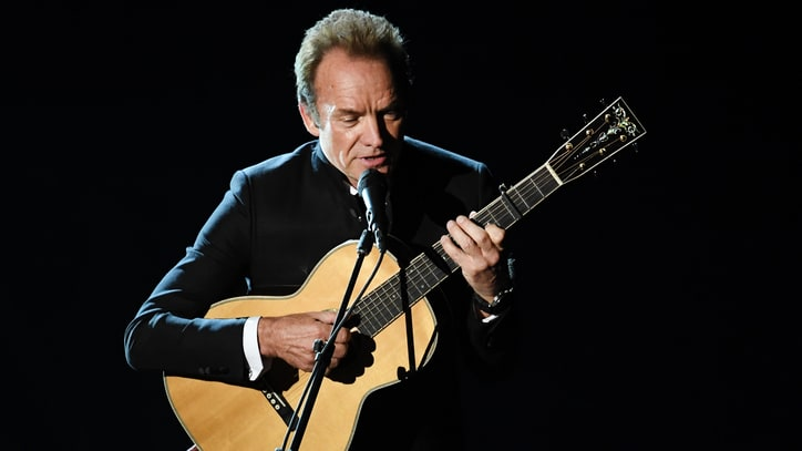 Watch Sting's Poignant 2017 Oscar Performance of 'The Empty Chair'
