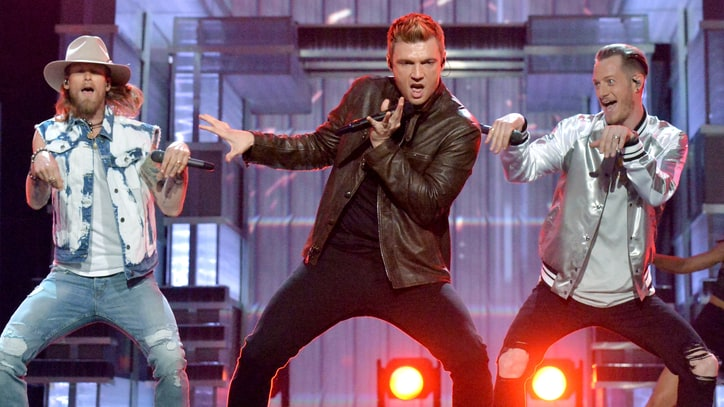 See Florida Georgia Line, Backstreet Boys' Explosive ACM Awards Mashup