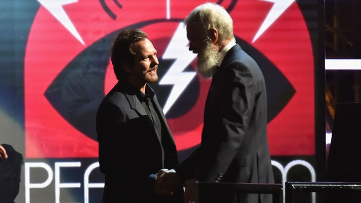 Eddie Vedder, Bill Murray to Honor David Letterman With Mark Twain Prize