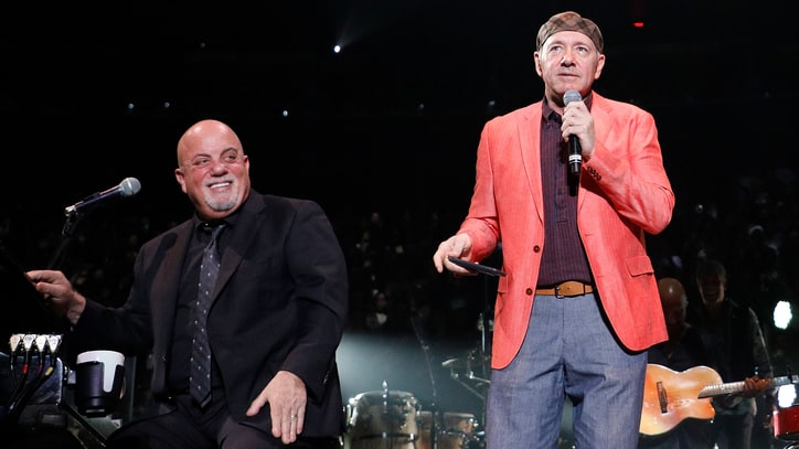 See Billy Joel Sing 'New York State of Mind' With Kevin Spacey