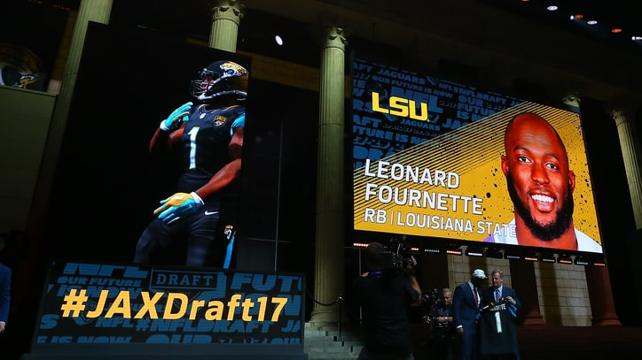 Leonard Fournette's NFL Draft Journey