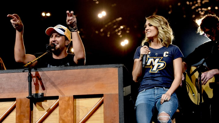 See Luke Bryan, Carrie Underwood's Surprise 'Play It Again' Duet